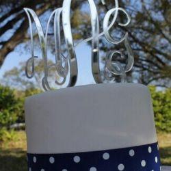 torto papuosimas veidrodinis plastikas monograma