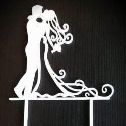 vestuvinio torto dekoracija papuosimas jaunavedziai