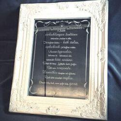 graviruotas veidrodis-vestuviu-dovana