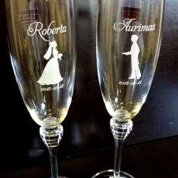 vestuvines-taures-jaunavedziu graviruotos