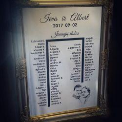 vestuviu-sveciu-stalo-planas graviruotas ant veidrodzio