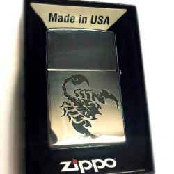 zippo ziebtuvelis-scorpionas graviruotas
