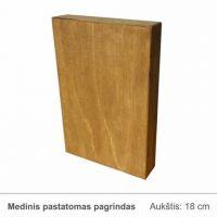 medinis-pastatomas-pagrindas-sviesiai rudas